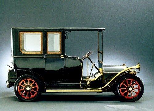 1908 Lancia Alpha 12 hp - the first car made by Lancia