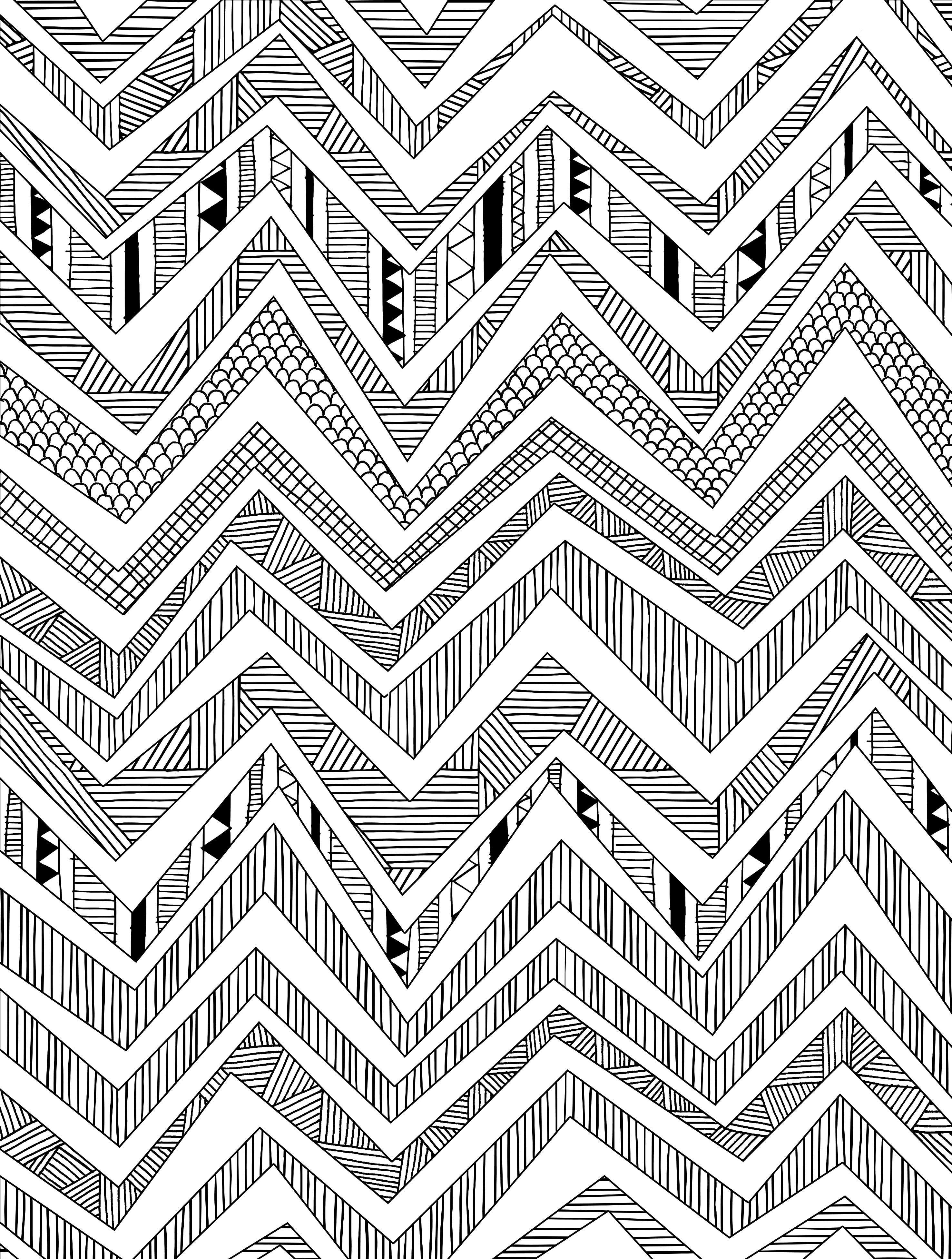 Geometricdesignbymolliemakescolouringbooksheetg