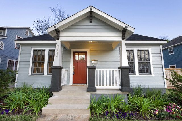 Image From Http St Hzcdn Com Simgs 1b71ff120e544d38 4 0858 Traditional Exterior Jpg House Exterior Craftsman Exterior Cottage Exterior