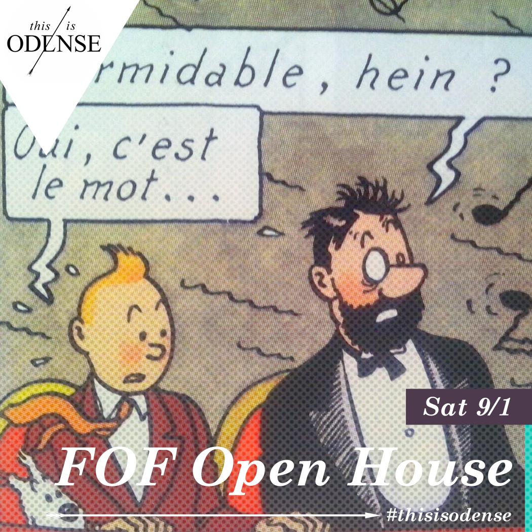 Åbent Hus hos FOF. Pardon my French! Et forsvar for den folkelige kultur .  Læs anbefalingen på: http://www.thisisodense.dk/da/21588/aabent-hus-hos-fof