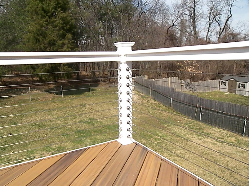 Uncategorized Deck Cable Railing atlantis rail systems stainless steel cable deck railing and fiberon decking ipe composite flooring