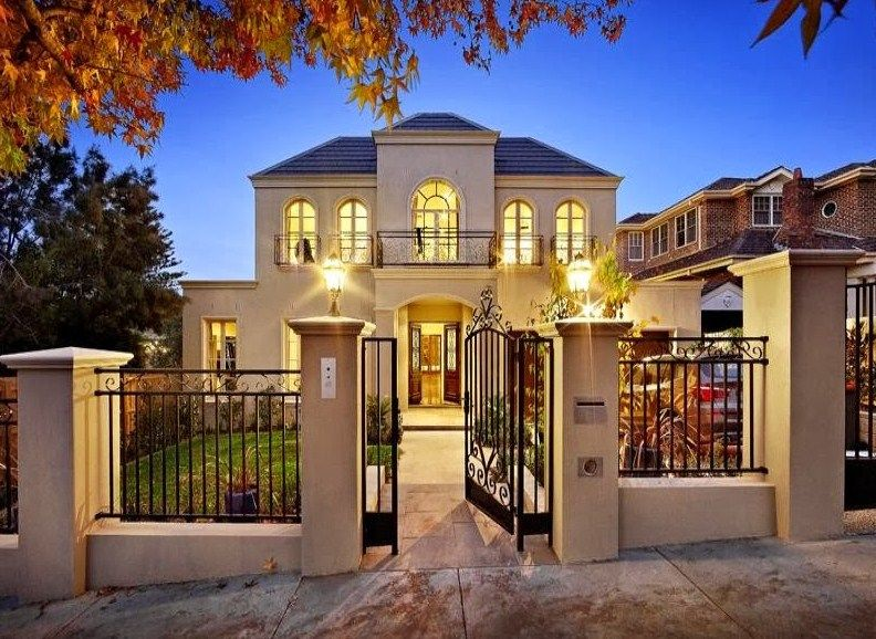 Fachadas de casas modernas con rejas inspiration architecture pinterest exterior house - Rejas de casas modernas ...