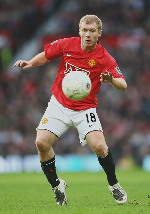Paul Scholes Manchester United Football Club Manchester United Man Utd Squad