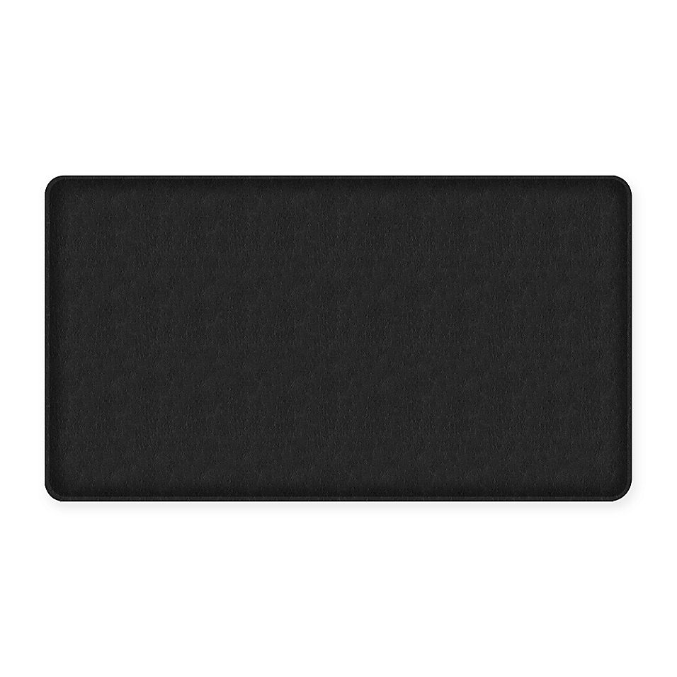 Gelpro Classic Quill 20 Inch X 36 Inch Kitchen Mat In Black