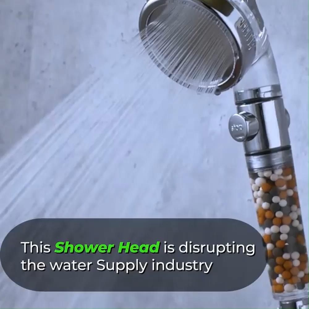 Increase Water Pressure Up To 200 Video Shower Heads Water