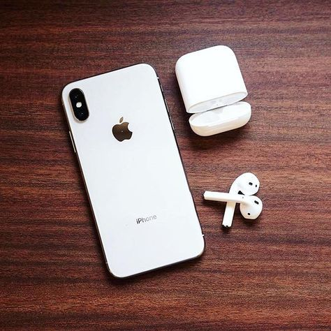 6fd4e4024e0 iPhone X + AirPods = Perfection! ______ Source: @aldrfd.visual ...