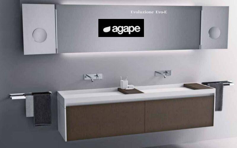 Bagni moderni con doppio lavabo : Mobile con doppio lavabo ...