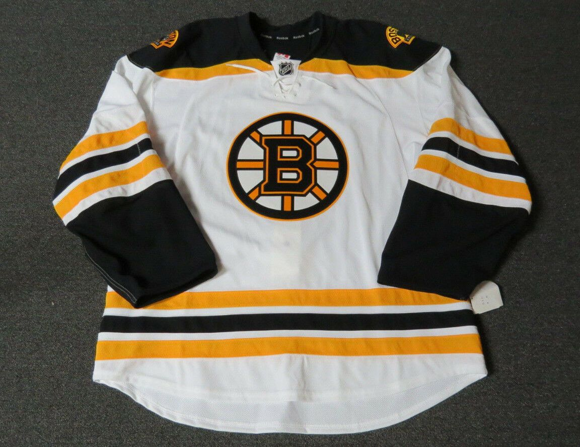 wholesale dealer 13f72 5d489 Details about New Boston Bruins Authentic Team Issued Reebok ...