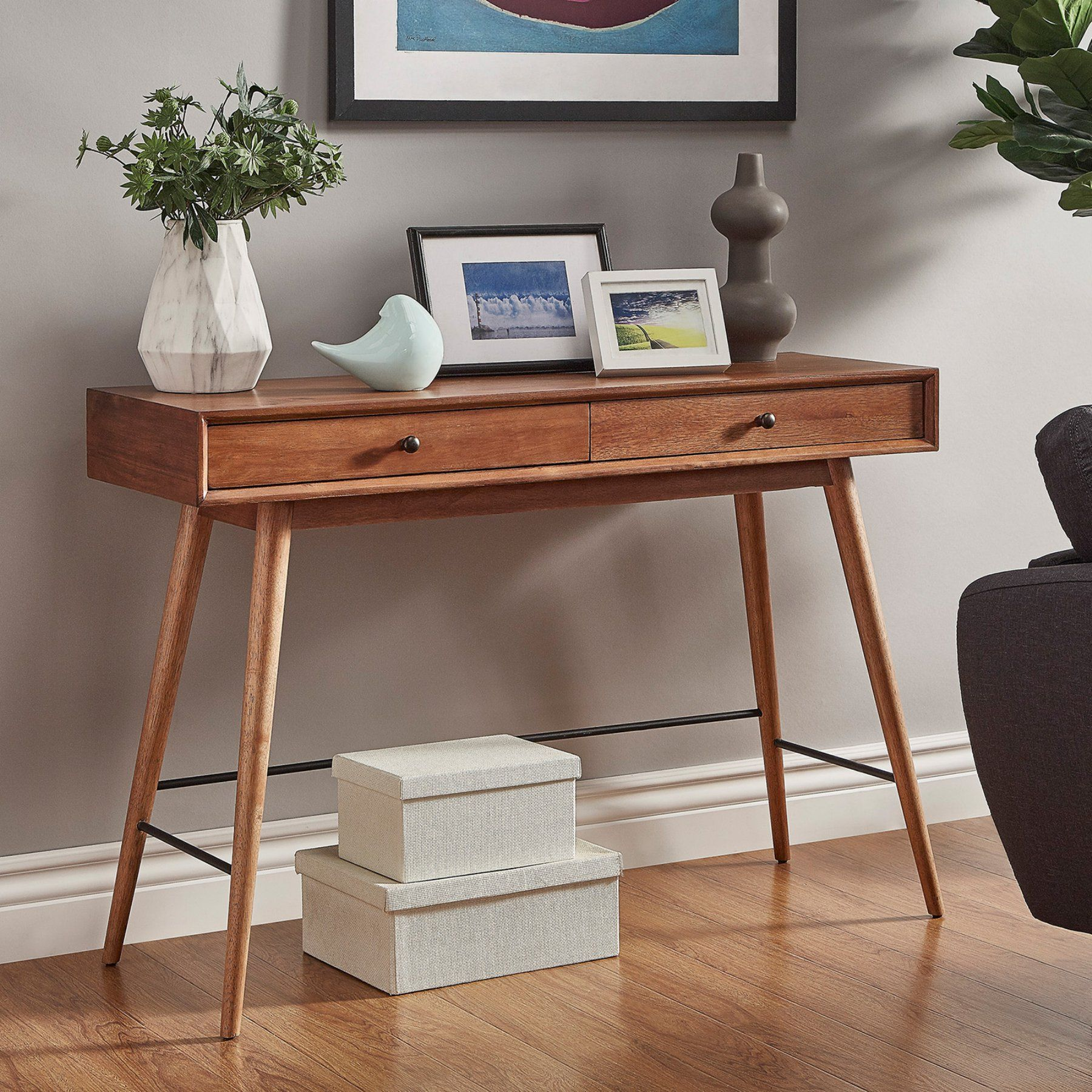 Weston Home Alcott Sofa Table  68579Br 05(3A)