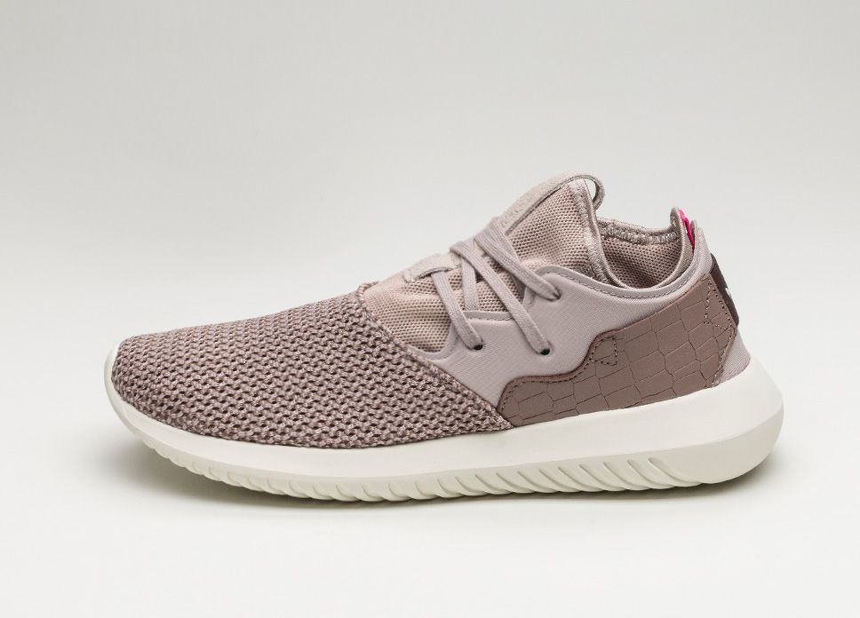 adidas Tubular Entrap W (Vapour Grey / Trace Brown / Off White) #lpu #sneaker #sneakers
