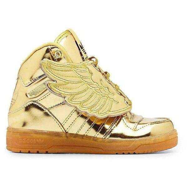 Adidas Originals x Jeremy Scott Kids Wings High Top Sneakers