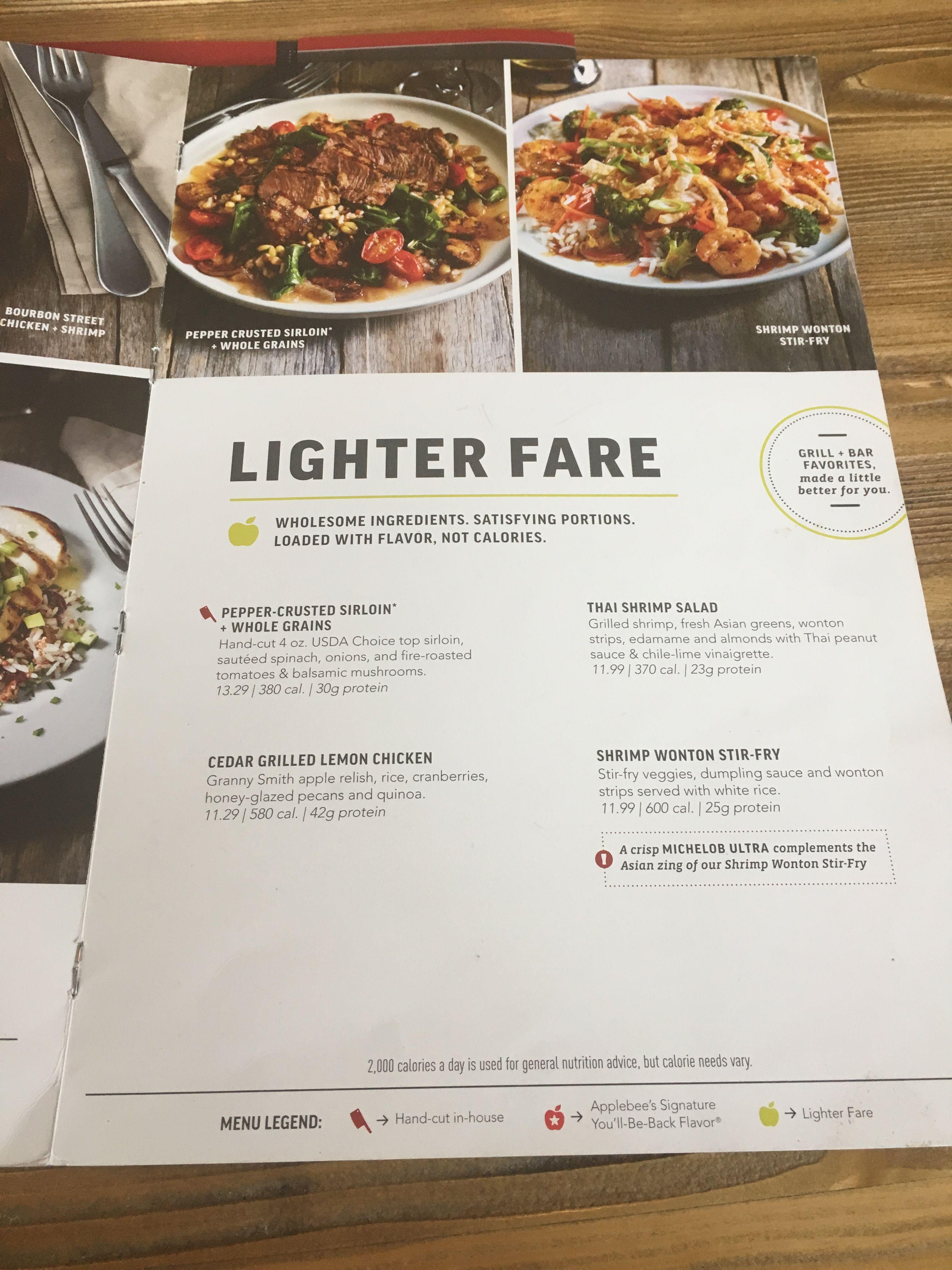 applebee's, may 2017 - washington, dc | menu labeling | pinterest