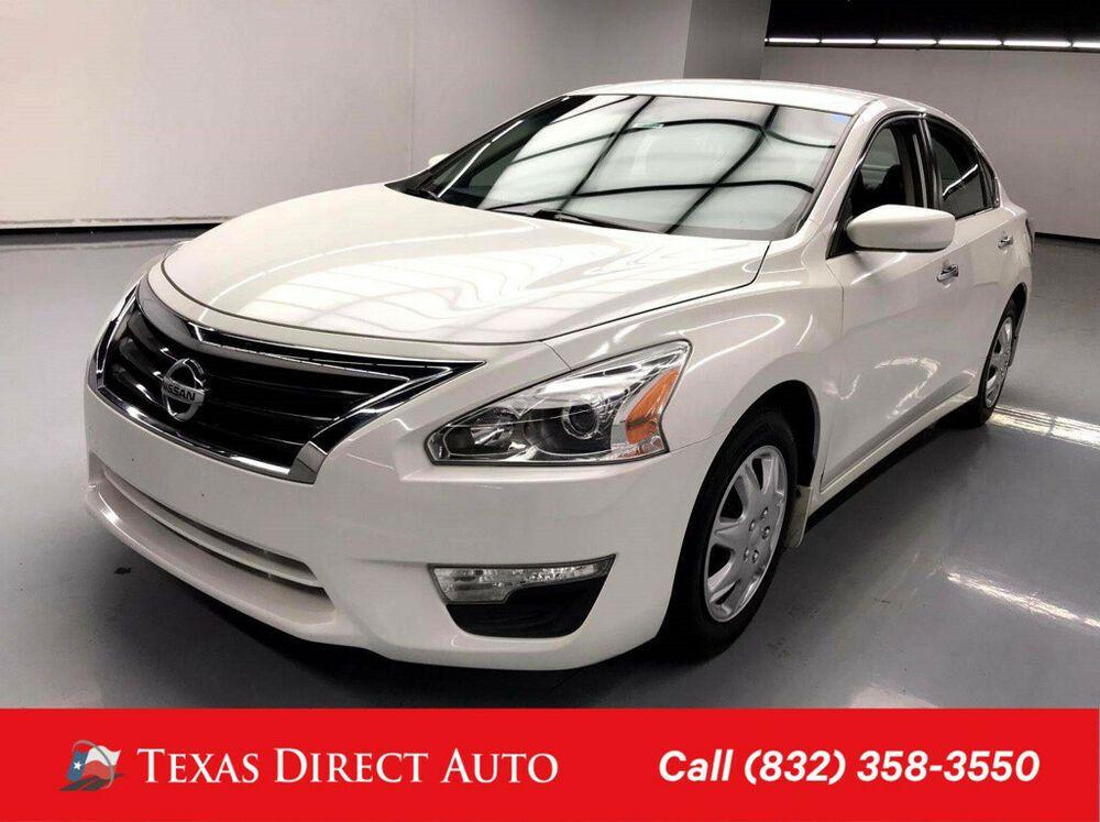 2015 Nissan Altima 2 5 S Texas Direct Auto 2015 2 5 S Used 2 5l I4 16v Automatic Fwd Sedan Nissan Altima Nissan Fwd