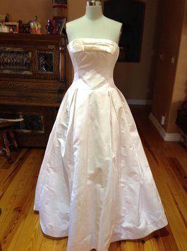 7bdb631bc6b Edgardo Bonilla Silk Podeswa (w/matching Wrap) Wedding Dress $2,050