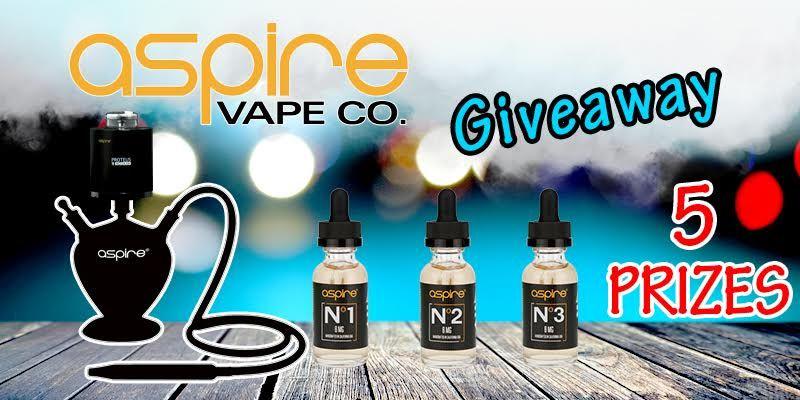 Enter to win an $571 worth of vape gear at http://vapingcheap.com/aspire-vape-co-giveaway/