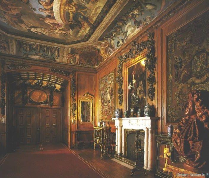 Windsor Castle See Grinling Gibbons Carving On The Paneled