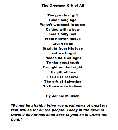Poems About Jesus Birth 3