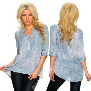 Stylowa Dluga Bluzka Tunika Koszula Oryginalna 6261635999 Oficjalne Archiwum Allegro Fashion Tops Women S Top