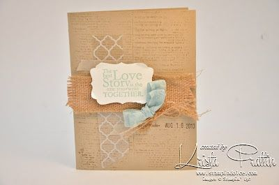 Anniversary Card One In A Million Stampin' Up! Stamp Set. Stampin' Dolce.