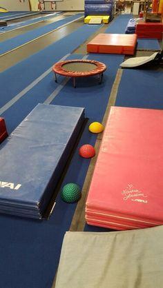 "Preschool Gymnastics: October 2015 Week 1 ""Fall Fun!"""