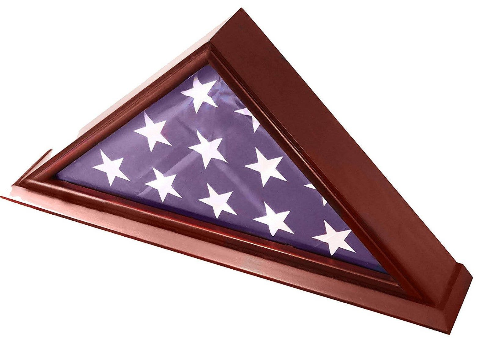 how to fold a flag for a flag case