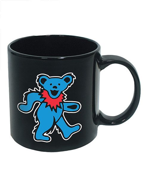 Look at this Grateful Dead Blue Dancing Bear Coffee Mug on #zulily today!