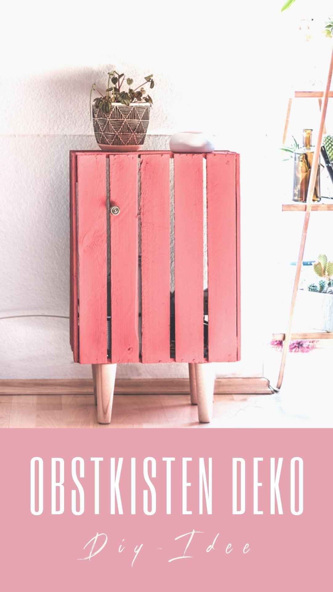 » Obstkisten DIY - so wird deine Holzkisten zum Deko-Hingucker! #caixasdemadeira