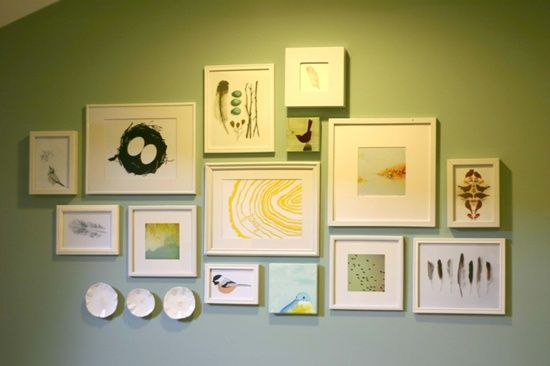 25 Photo Wall Creations that will make your house a hit!   Wall ...