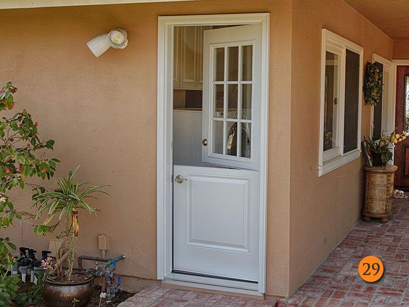 After 32 Inch Single Dutched Side Entry Door Plastpro Model Drs2b