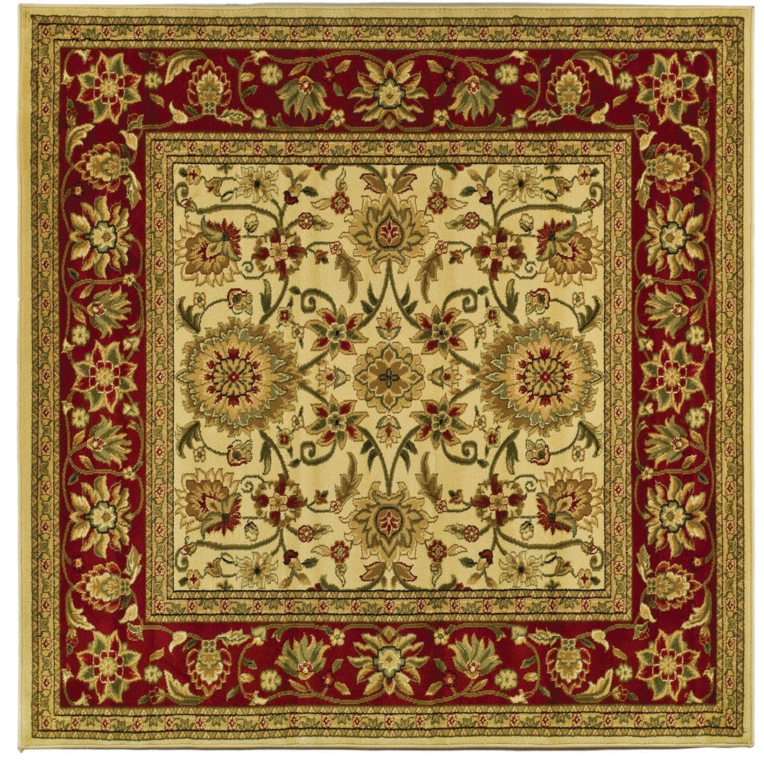 Safavieh Lyndhurst Ambrogina Traditional Oriental Rug Area Rugs Beige Area Rugs Red Rugs