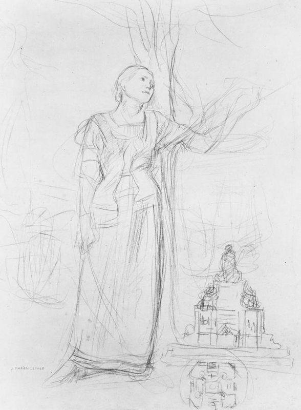 Amazon.com: Jules Bastien-Lepage Joan of Arc 1879