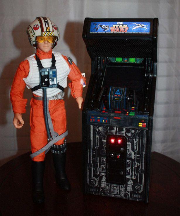 Star Wars mini arcade cabinet.