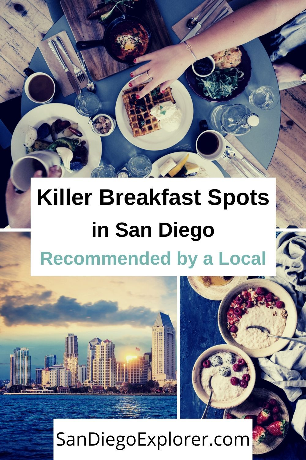 Discover the top must-try spots for breakfast in San Diego. There is no need to skip out on the most important meal of the day. San Diego Breakfast places - San Diego restaurants - Where to eat in San Diego - San Diego Food - Things to do in San Diego - San Diego Itinerary - San Diego travel tips - San Diego things to do
