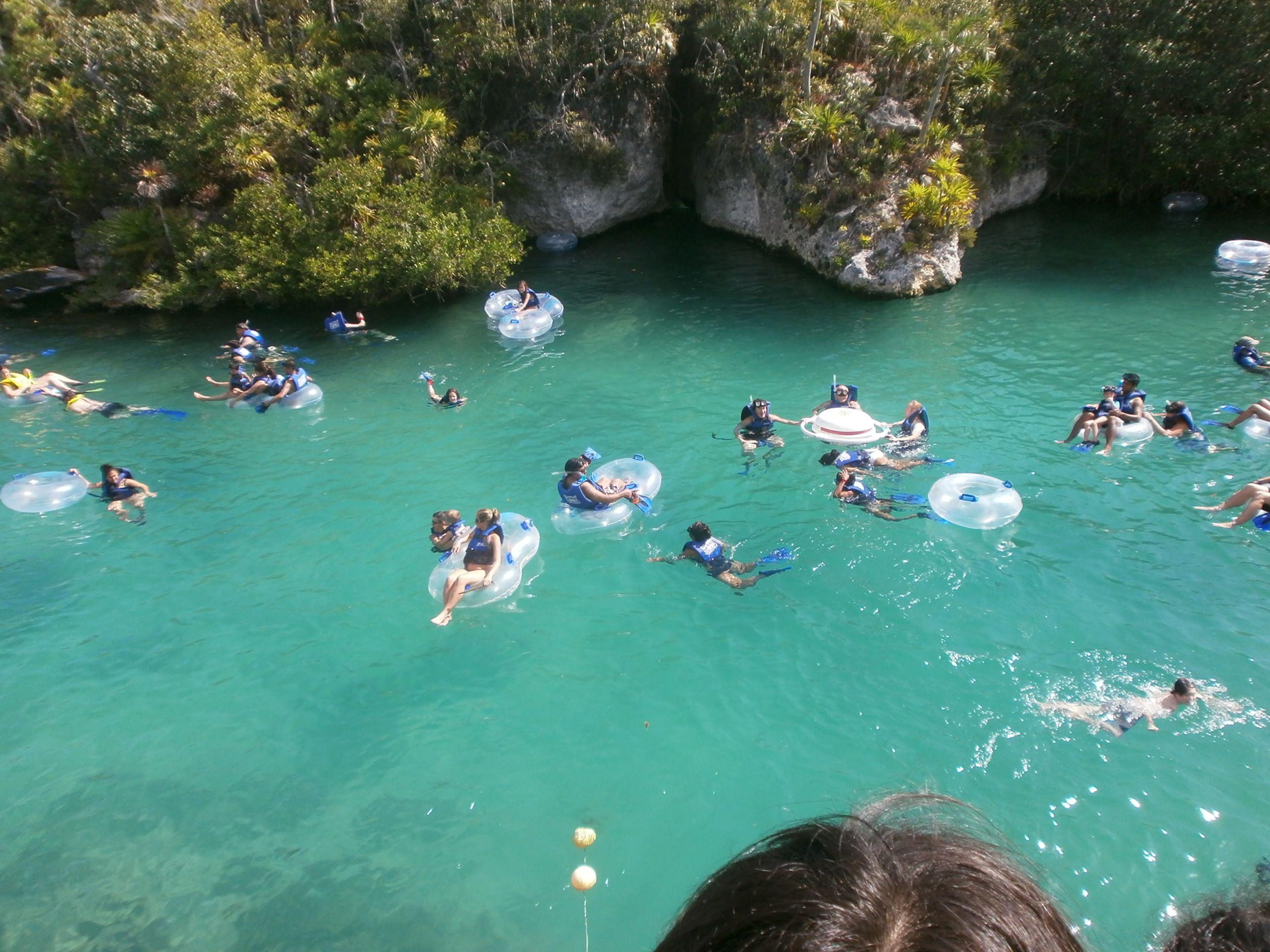 Xel Ha Park Cancun Mexico