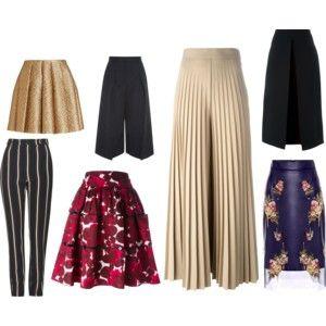 versatilidad en faldas y pantalones