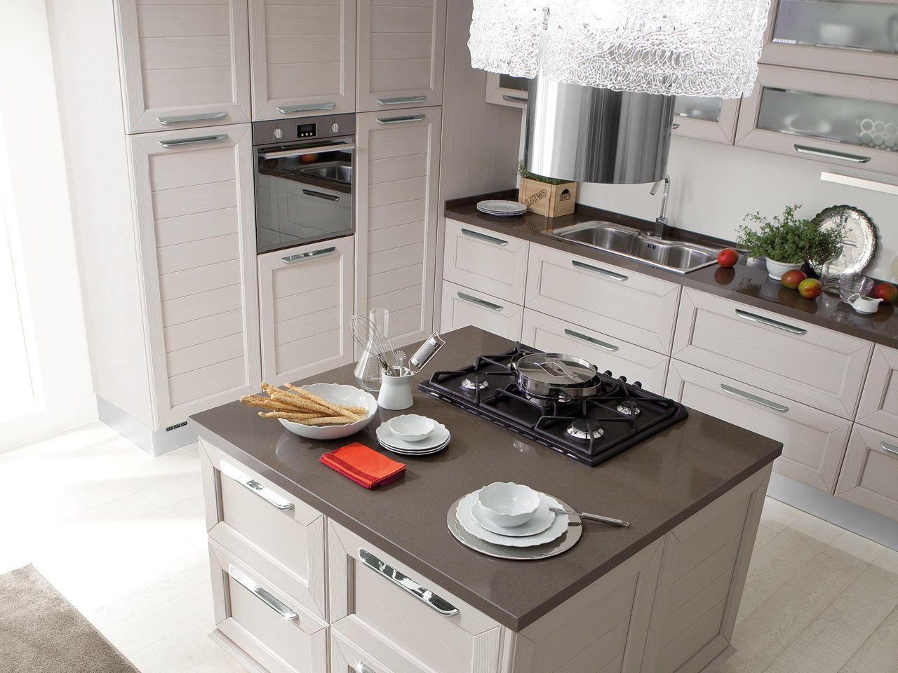 CLAUDIA Cucina decapata by LUBE INDUSTRIES S.R.L. | Home | Pinterest ...