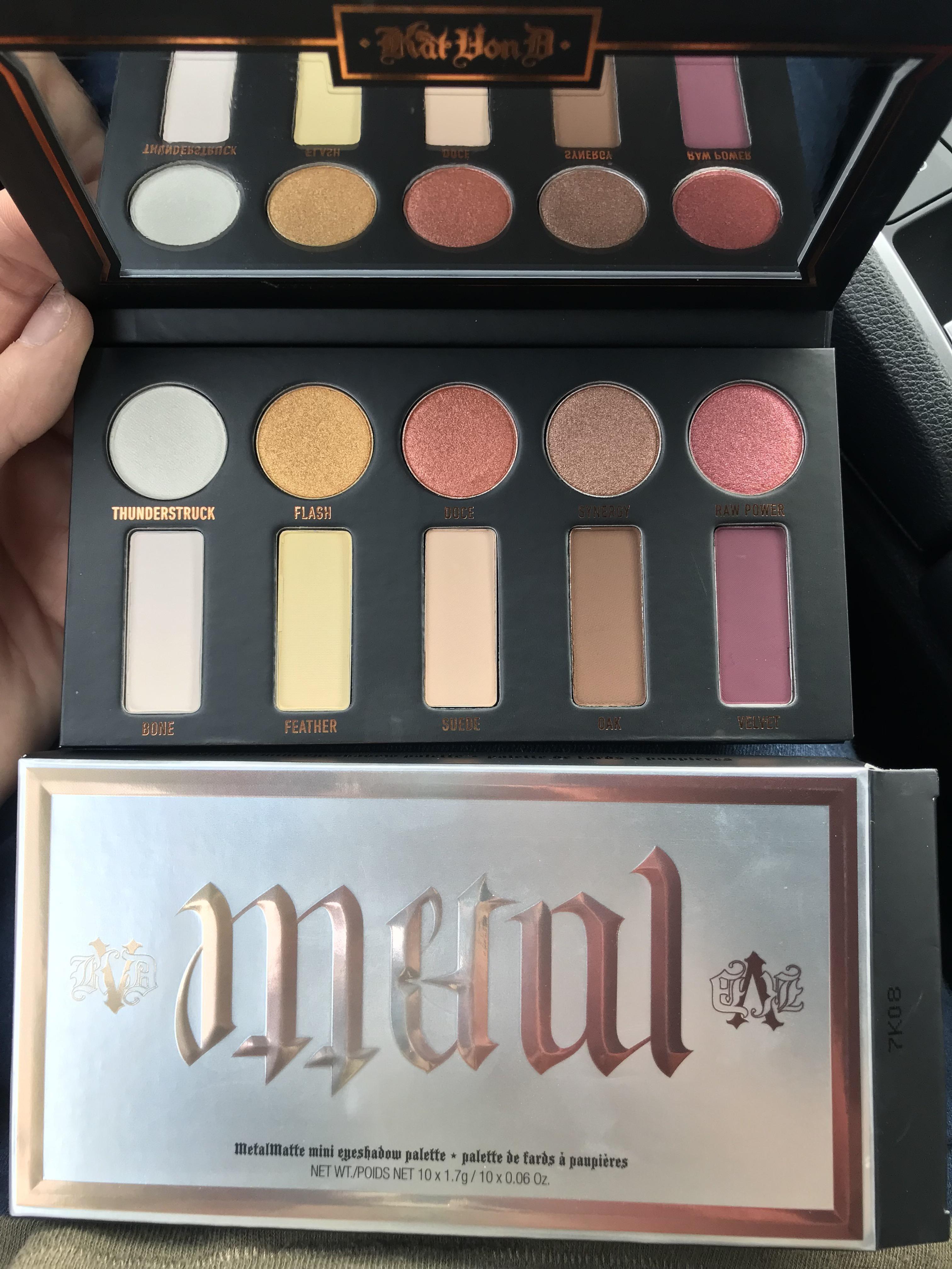 Kat Von D Metal Matte Mini Palette (With images) Makeup