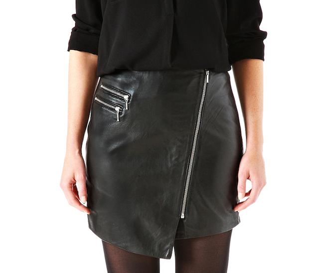 plus récent 91ec4 d48dd mini jupe en cuir promod | style | Fashion, Skirts, Style