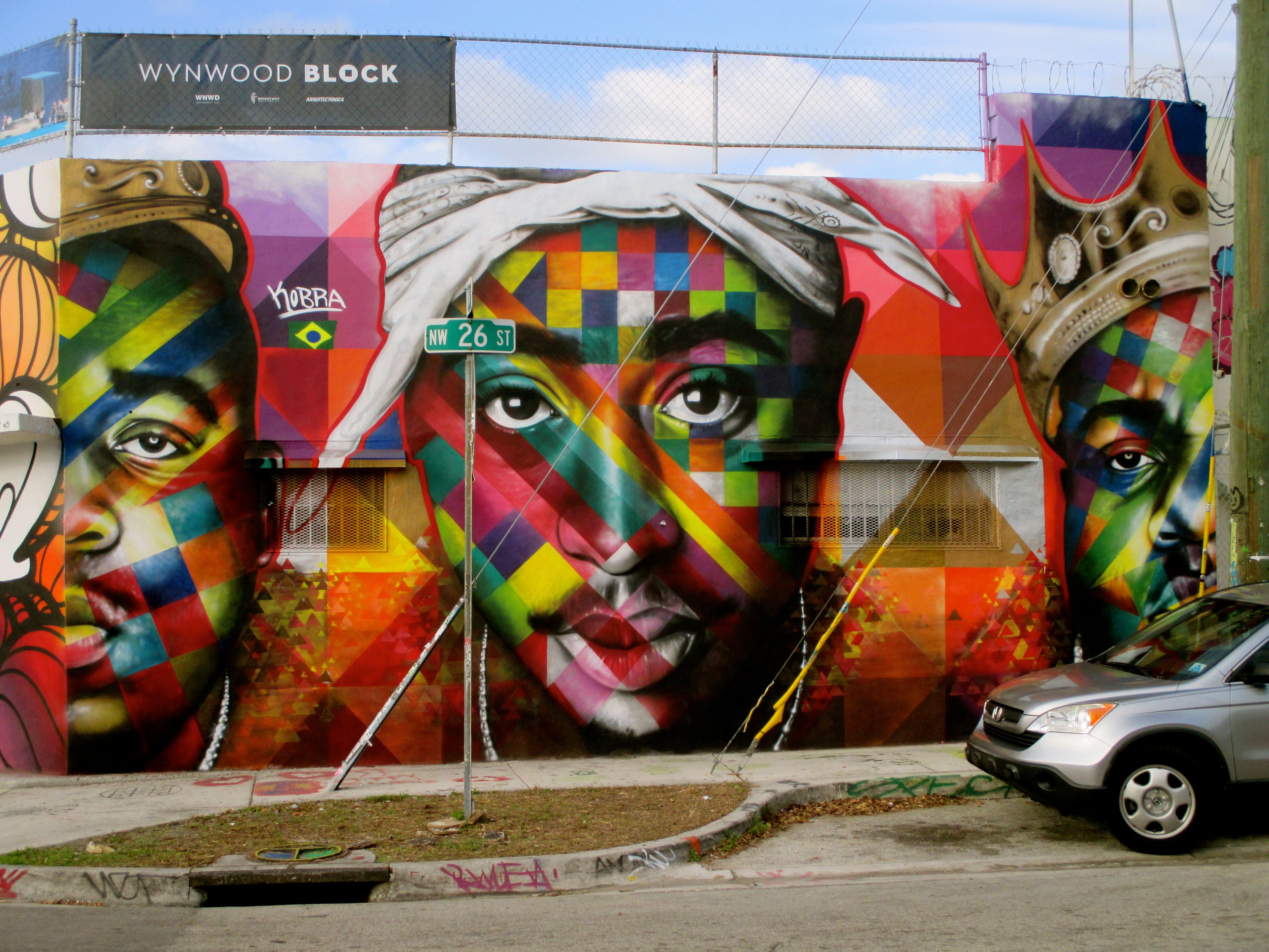 Wynwood Walls Street Art Art Miami | Miami Wynwood Street ...