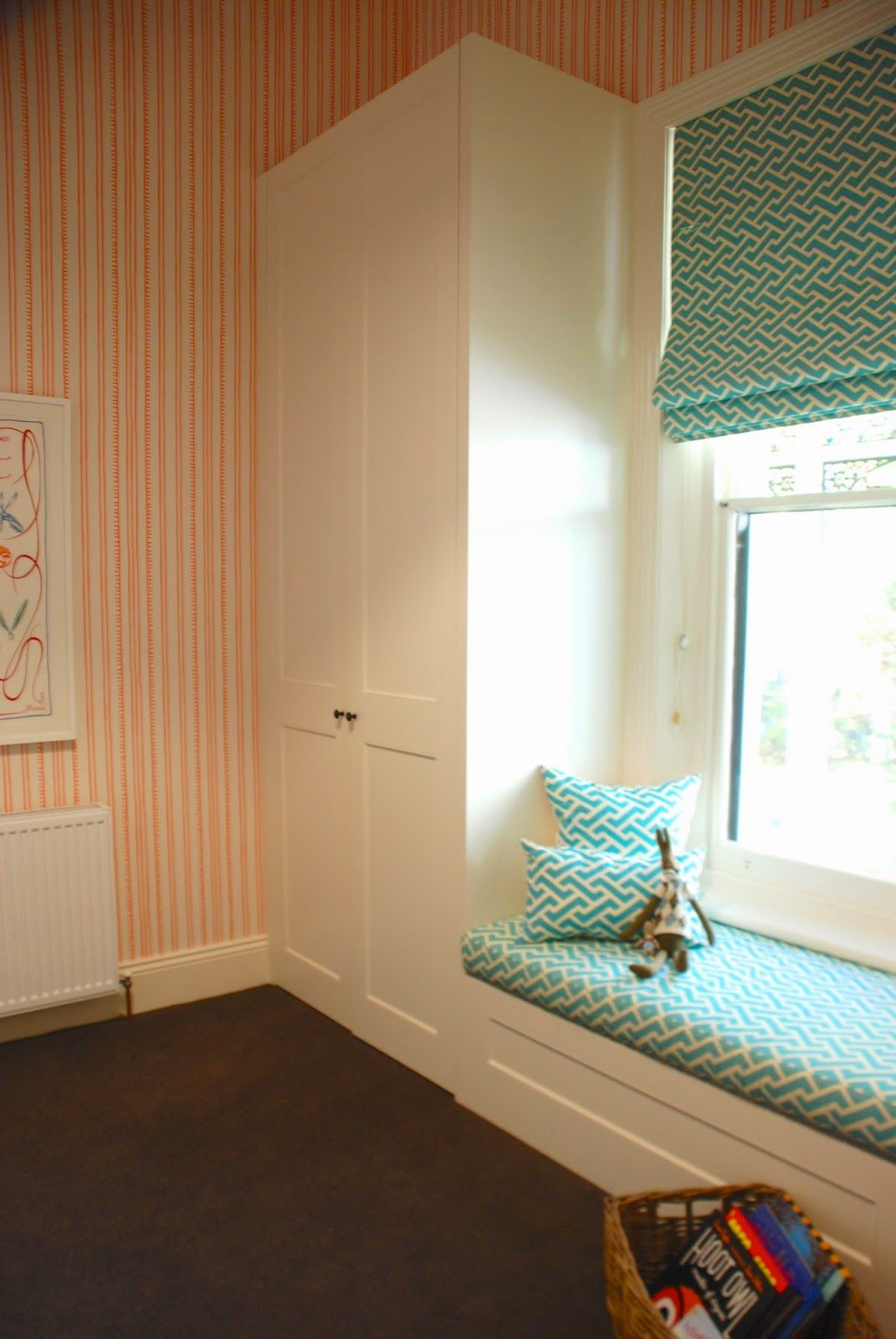 Wardrobe And Seating Around Window Adelaide Villa