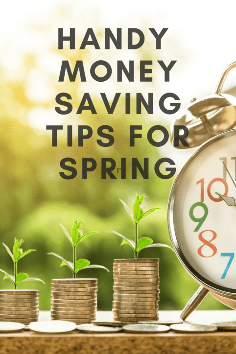 Handy money saving tips for Spring! #financenestegg