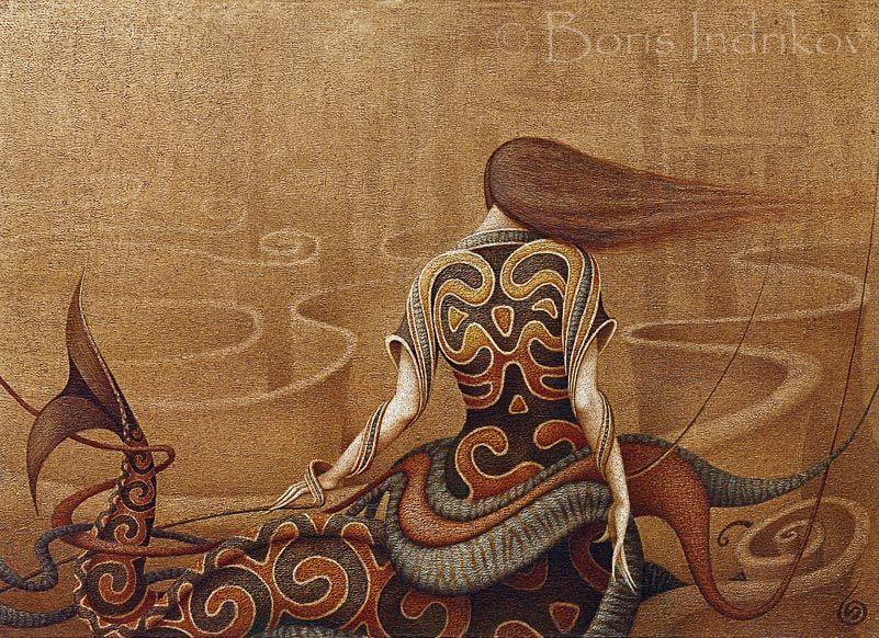 boris indrikov art | Boris Indrikov [Борис Индриков] - Russian Magical Realism ...
