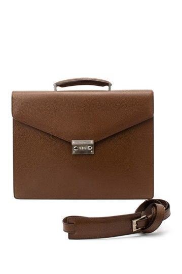Vintage Ferragamo Leather Brief Case by LXR on @HauteLook ..... Think I just found something to spend that 52 week challenge cash on