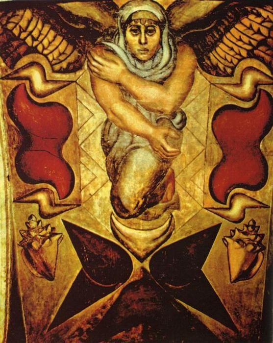 David Alfaro Siqueiros Los Elementos Galeria 8 Mexican Art