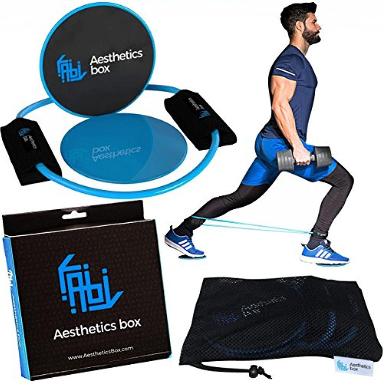 Aesthetics box gliding discs exercise sliders fitness