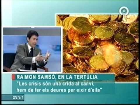 El código del dinero - Raimon Samsó en Canal 9 Valencia
