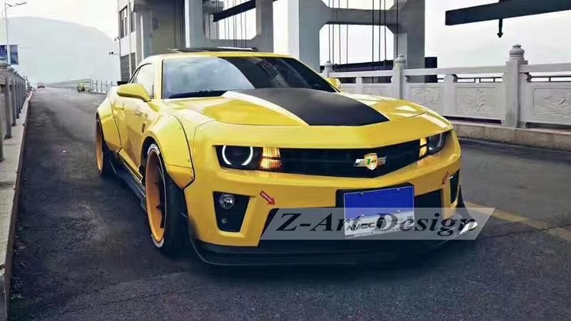 High Quality Body Kit For Chevrolet Camaro 2011 2015 Wide Body Kit For Camaro Free Shipping Door To Door Wide Body Kits Body Kit Camaro