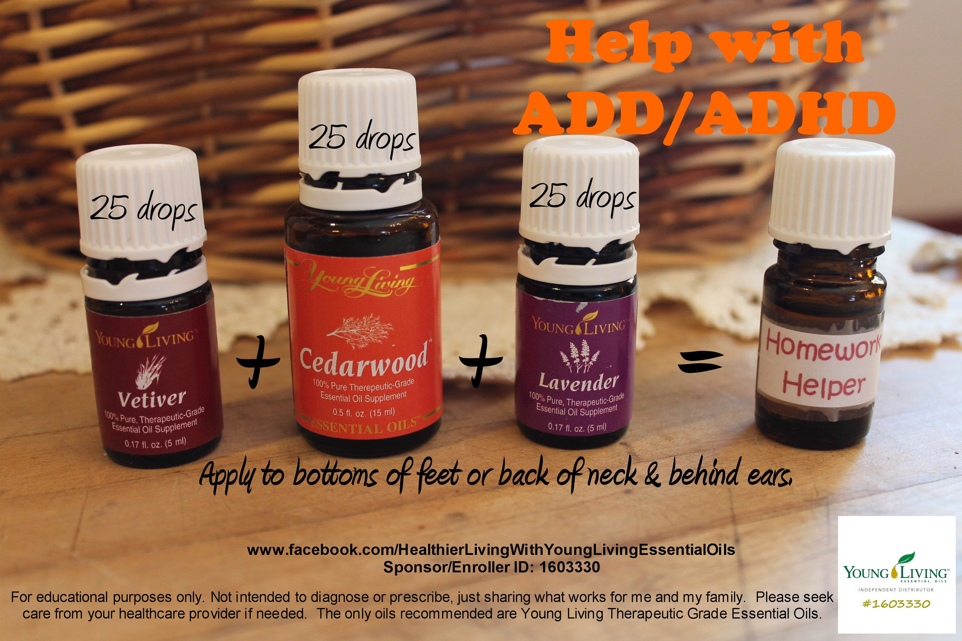 ADD/ADHD - Young Living Essential Oils … | Holistic | Pinte…