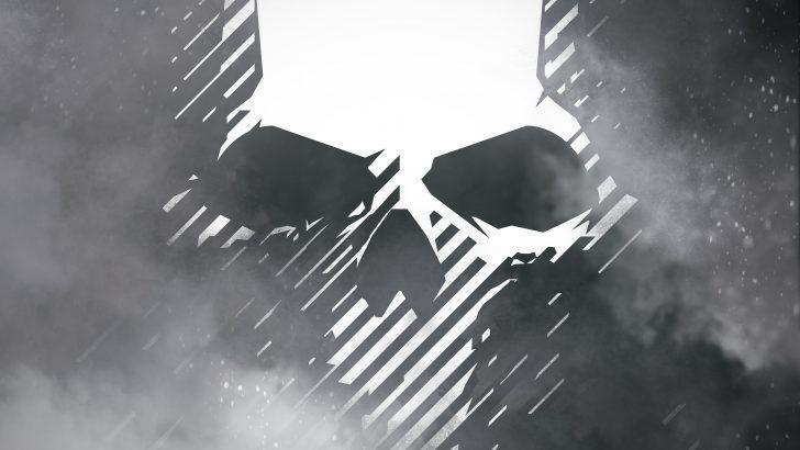 Download Ghost Recon Wildlands Skull Logo 4k Uhd 3840x2400 Logos