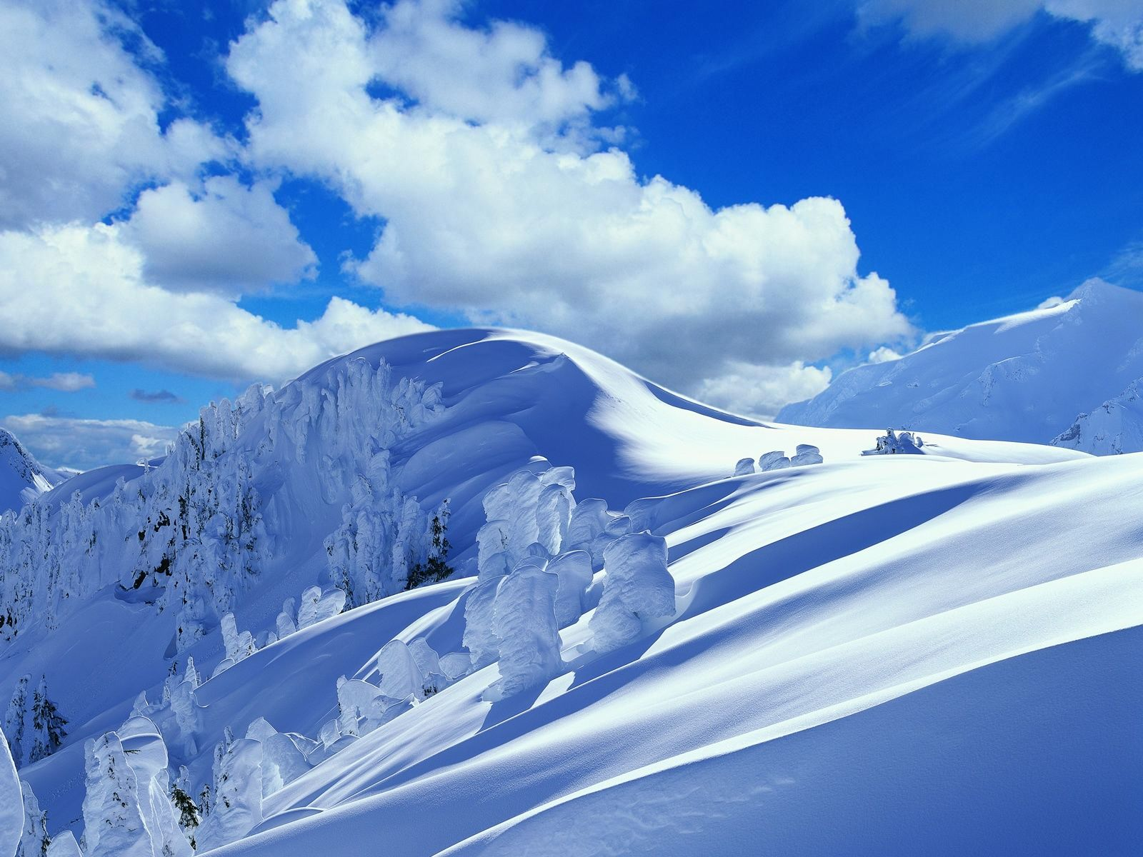 Colorado Snowy Mountains Mountains snowy winter nature HD